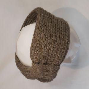 2/$30 CHARLIE PAIGE Metallic Knit Winter Headband